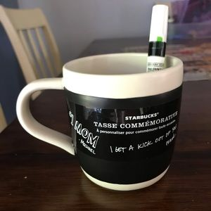 Starbucks celebration mug